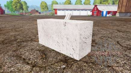 Concrete weight for Farming Simulator 2015