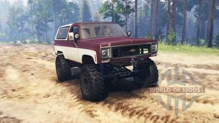 Chevrolet K5 Blazer for Spin Tires