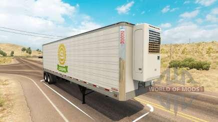 Utility 2000R trailer for American Truck Simulator