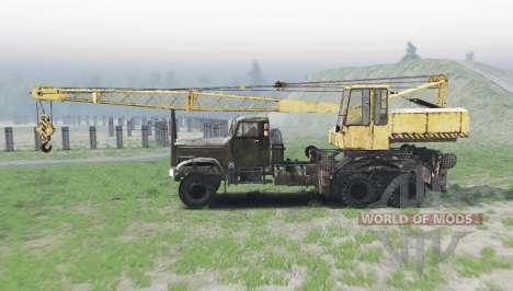 KrAZ 257 KS 4561 v2.1.3 for Spin Tires