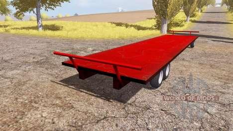 JBM Flat Racks for Farming Simulator 2013