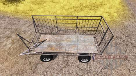 Bale trailer v3.0 for Farming Simulator 2013