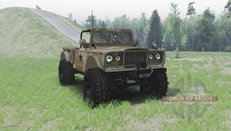 Jeep M715 for Spin Tires