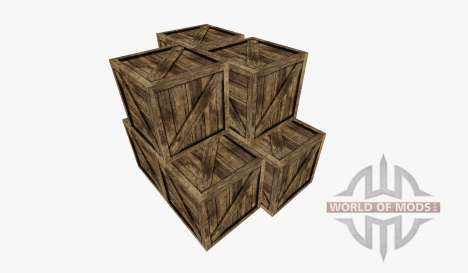 Wooden crate for Farming Simulator 2015