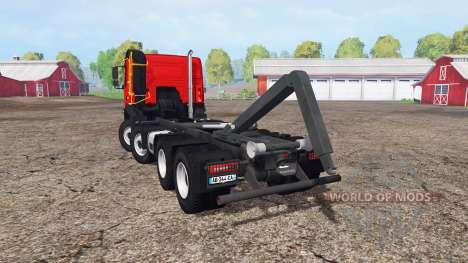 Volvo FMX 500 hooklift for Farming Simulator 2015