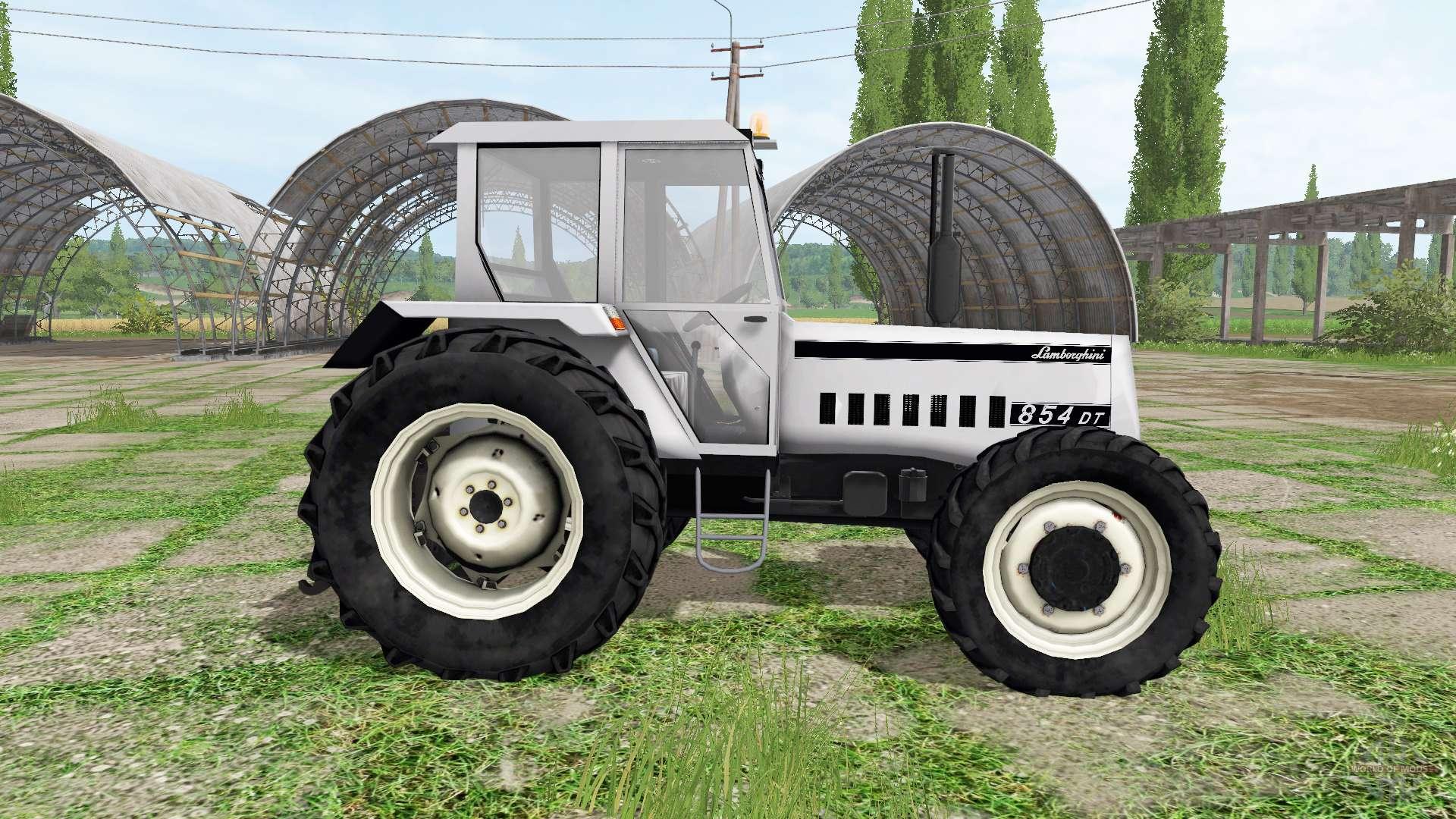 lamborghini 854 dt for farming simulator 2017 rh worldofmods com Lamborghini Monster Truck Lamborghini Aventador J