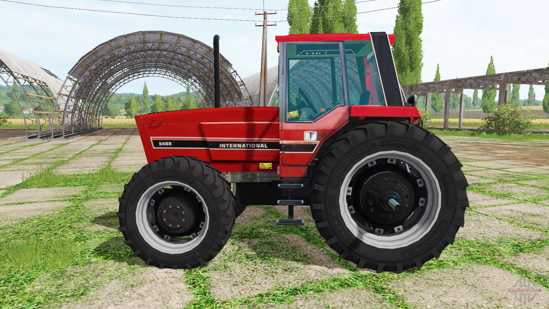 Tractor Simulator 2 : International harvester for farming simulator