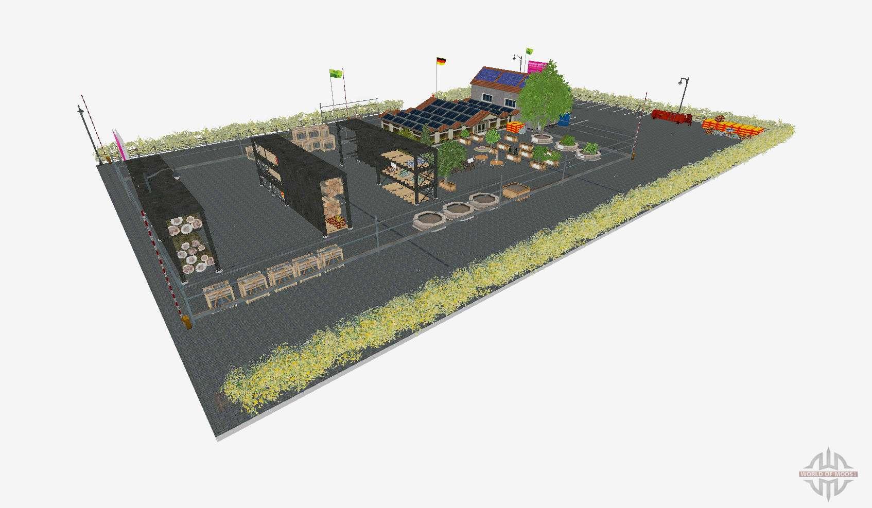 Garden Centre For Farming Simulator 2015