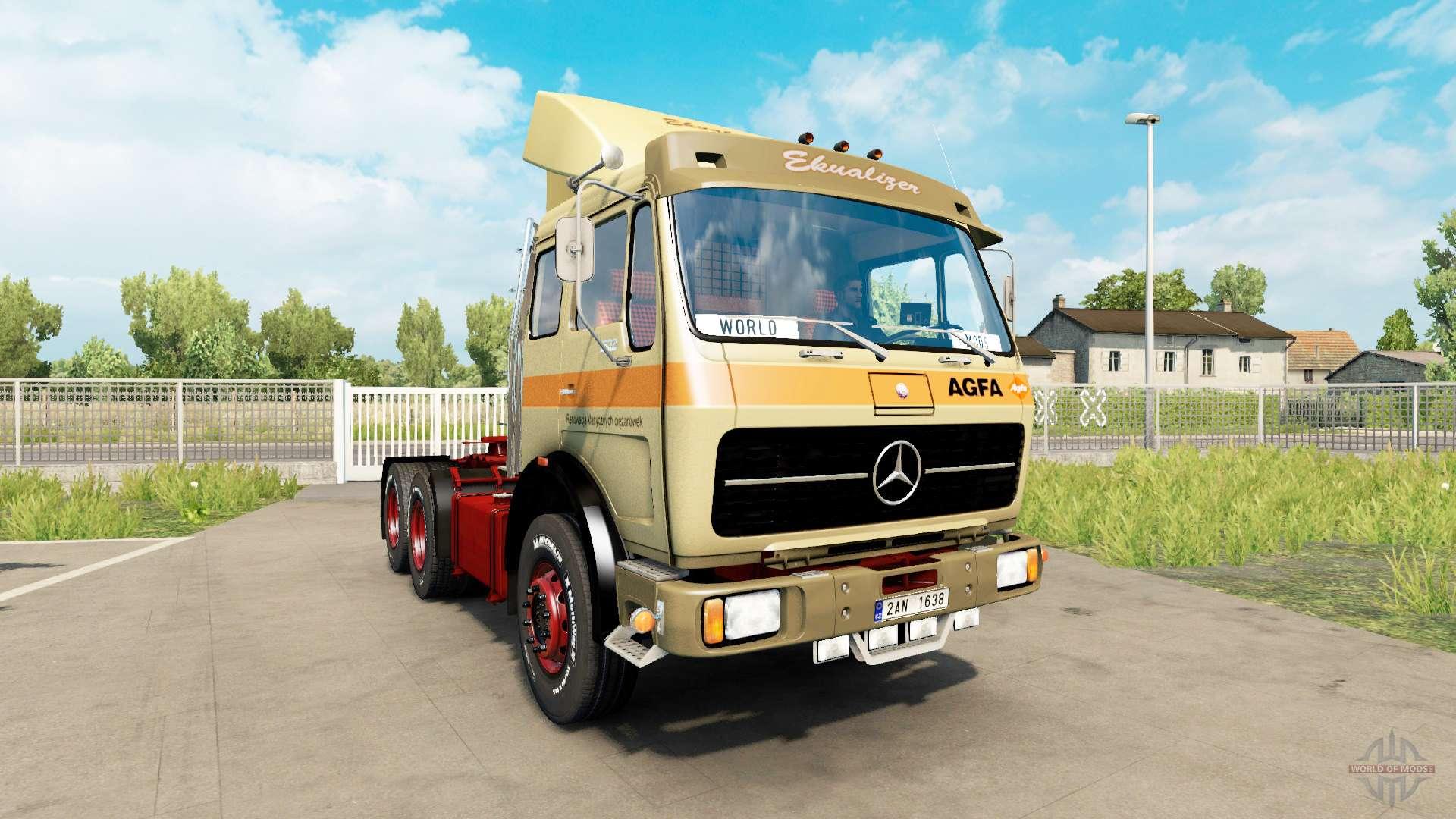 mercedes benz 1632 v1 1 for euro truck simulator 2. Black Bedroom Furniture Sets. Home Design Ideas