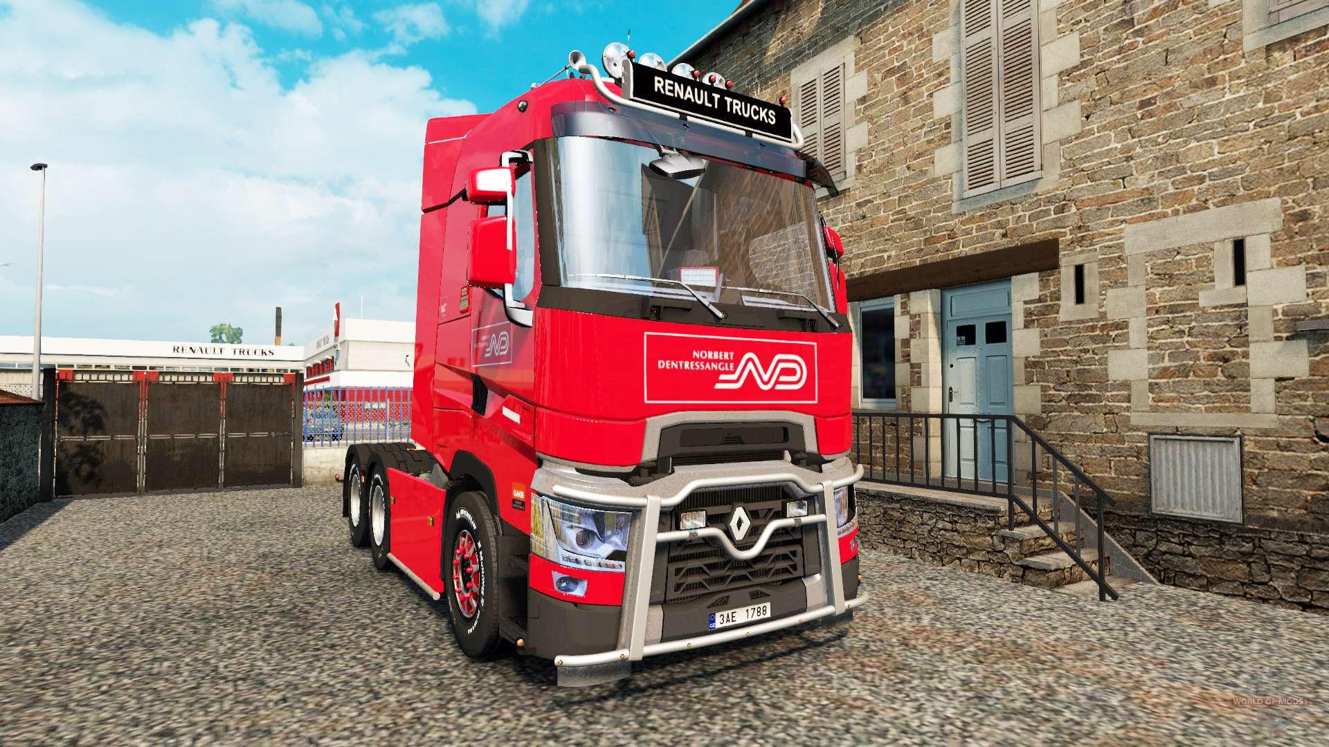 renault t v4 3 for euro truck simulator 2. Black Bedroom Furniture Sets. Home Design Ideas