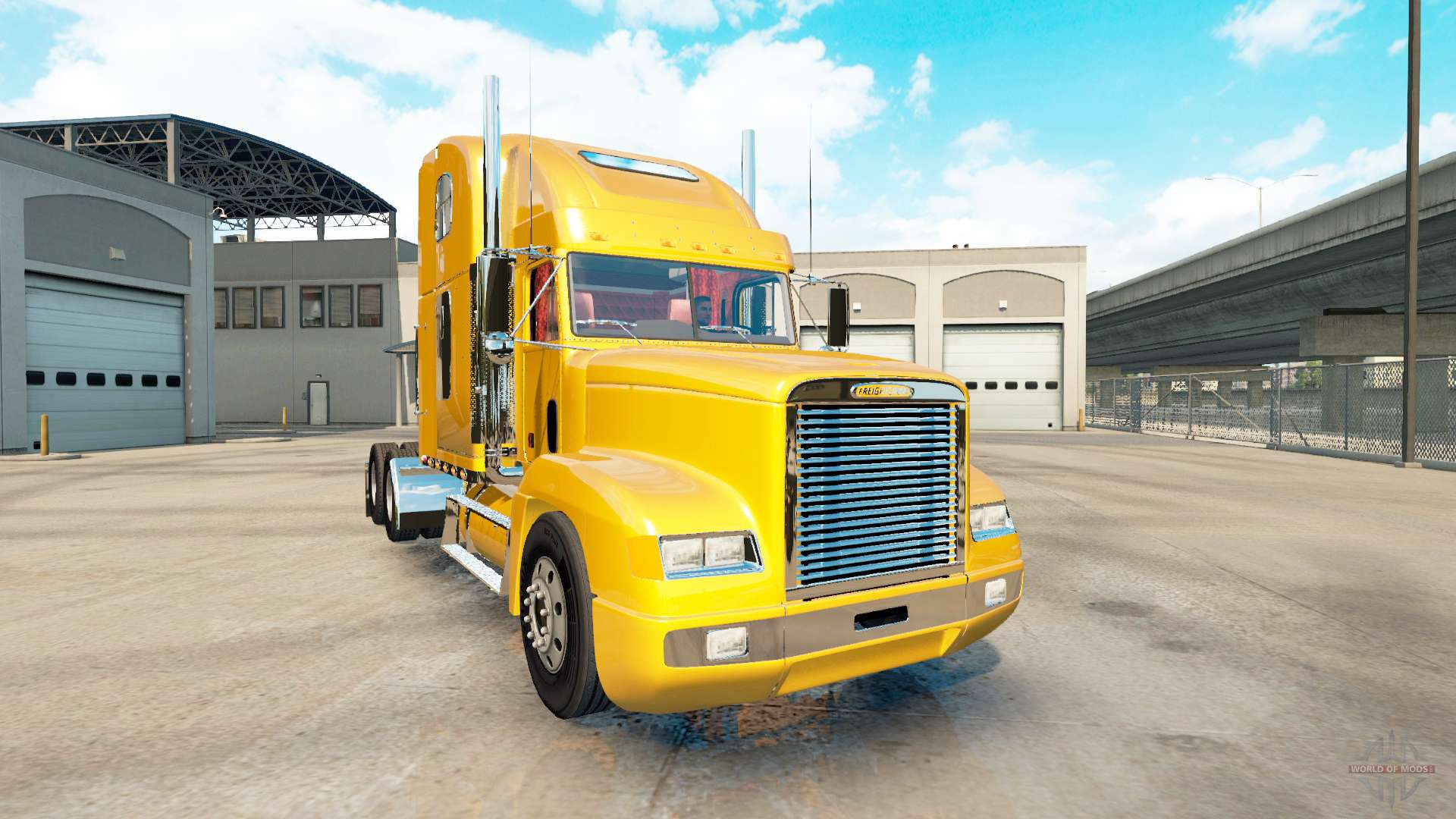 Fld 120 Freightliner Semi Truck : Freightliner fld for american truck simulator