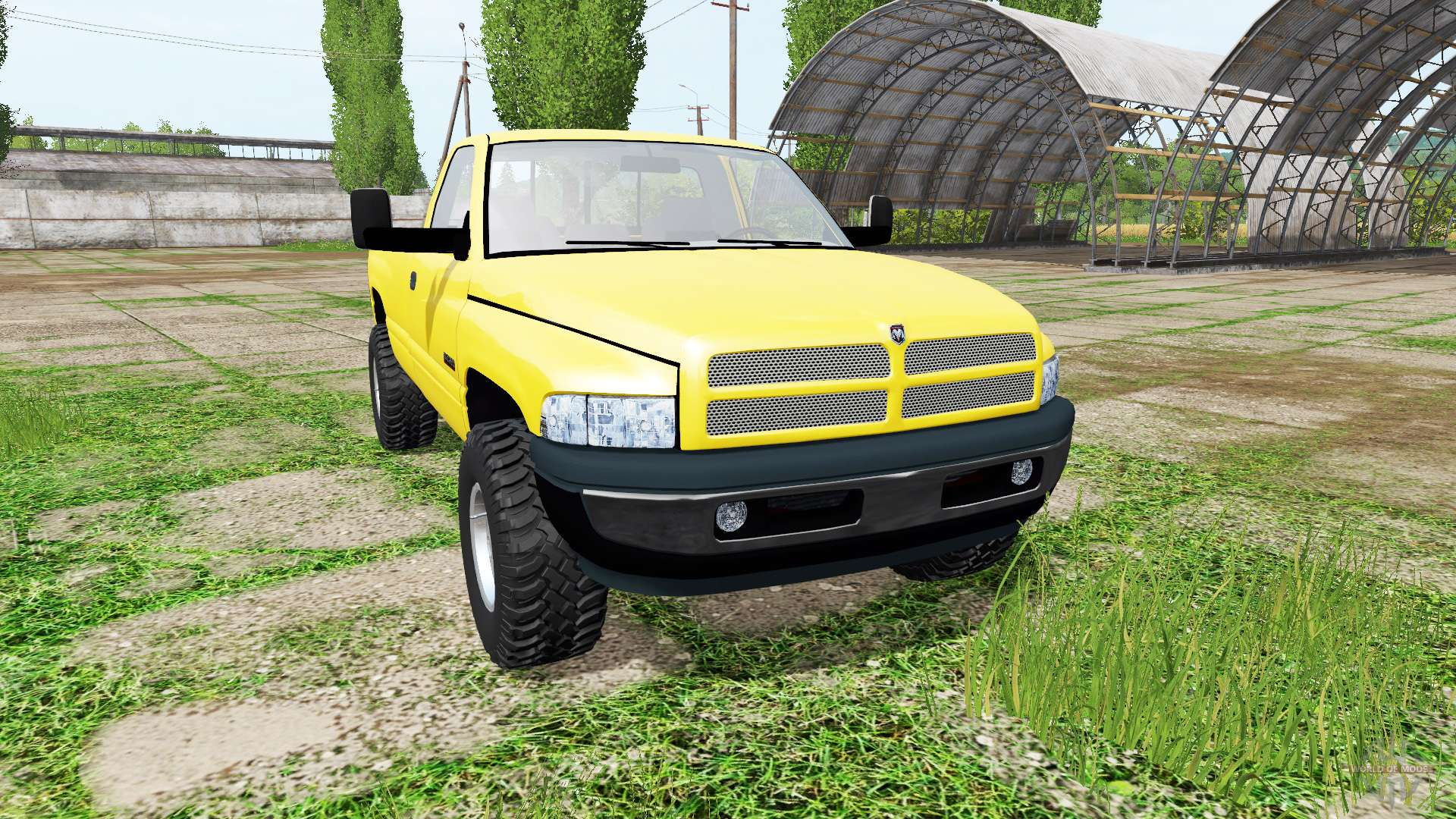 dodge ram 2500 for farming simulator 2017. Black Bedroom Furniture Sets. Home Design Ideas