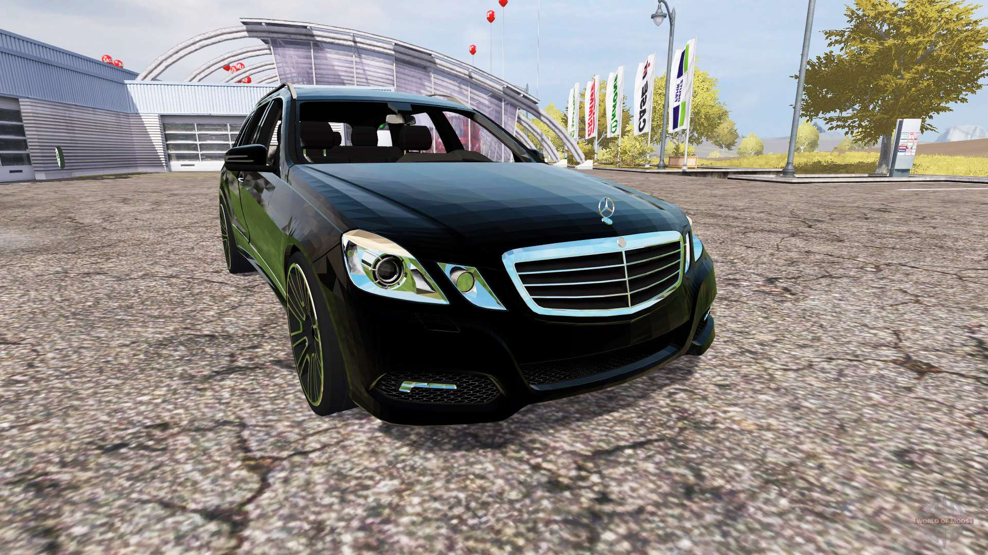 mercedes benz e klasse estate s212 for farming simulator 2013. Black Bedroom Furniture Sets. Home Design Ideas