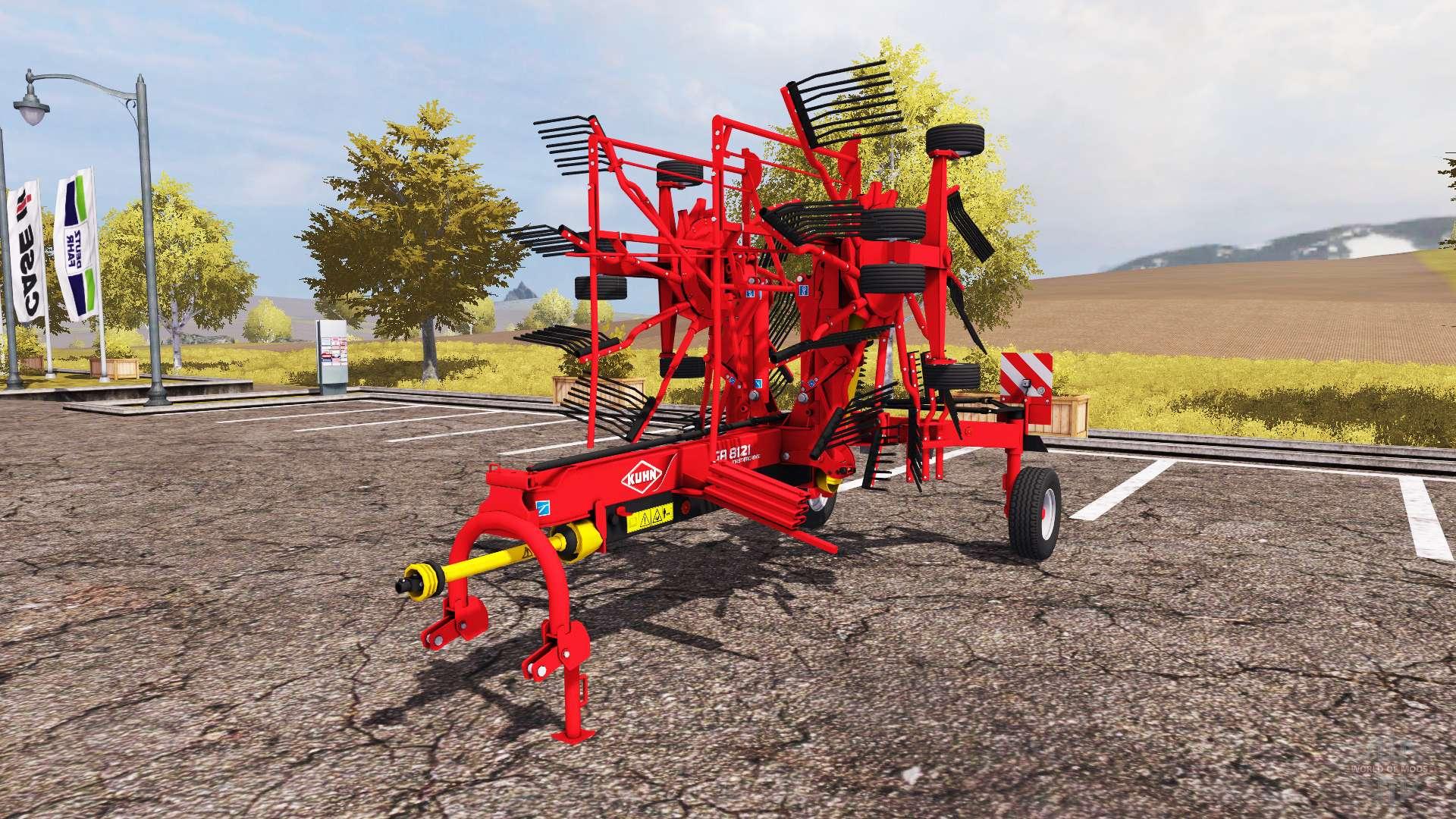 Kuhn GA 8121 for Farming Simulator 2013