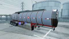 Chrome tanker 3-axle
