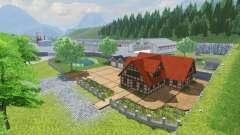 Danube valley v2.1 for Farming Simulator 2013