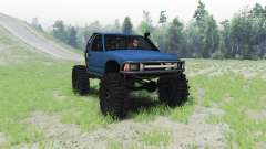 Chevrolet S-10 1996 truggy for Spin Tires