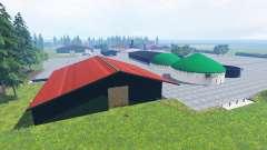 Papenburg v2.95 for Farming Simulator 2015