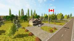 Canadian national map v1.1 for Farming Simulator 2017