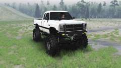 Dodge Power Ram 250 1991 for Spin Tires