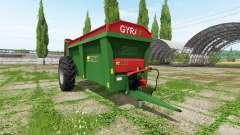 Gyrax EBMX 155 for Farming Simulator 2017