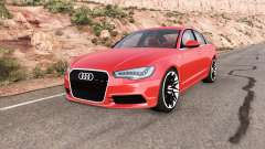 Audi A6 (C7) v1.3 for BeamNG Drive