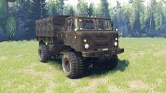 GAZ 66 v4.0 for Spin Tires
