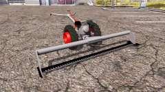 Beam self propelled lawn mower
