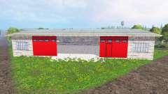 Placeable garage