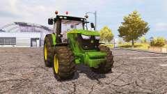 John Deere 6170R v2.0 for Farming Simulator 2013