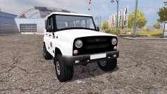 UAZ Hunter (315195) for Farming Simulator 2013