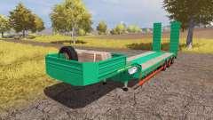 Aguas-Tenias lowboy v3.0 for Farming Simulator 2013