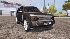 Land Rover Range Rover Supercharged (L322) v2.0 for Farming Simulator 2013
