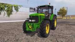 John Deere 6620 v3.0 for Farming Simulator 2013