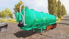 Aguas-Tenias tank manure v2.0