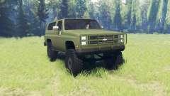 Chevrolet K5 Blazer M1009 for Spin Tires