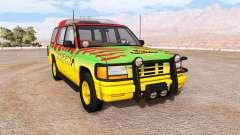 Gavril Roamer Tour Car Jurassic Park v1.0 for BeamNG Drive