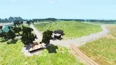 Hillside highway v1.2 for BeamNG Drive