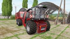 Krone BiG X 1100 cargo v2.0 for Farming Simulator 2017