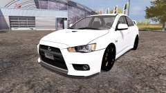 Mitsubishi Lancer Evolution X for Farming Simulator 2013
