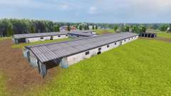 Ukrainian collective farm for Farming Simulator 2013