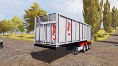Fliegl TMK 271 Bull semitrailer for Farming Simulator 2013