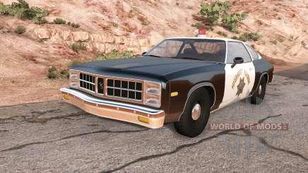 Bruckell Moonhawk California highway patrol for BeamNG Drive