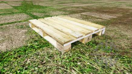 Wooden pallet for Farming Simulator 2017