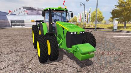 John Deere 8345R v1.1 for Farming Simulator 2013