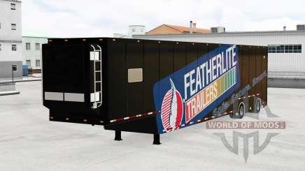Featherlite semitrailer v1.3 for American Truck Simulator