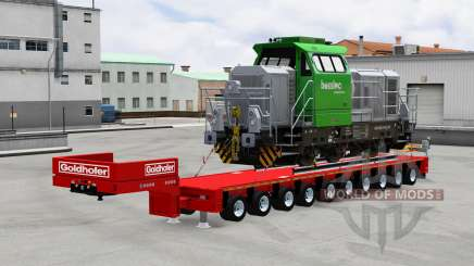 Goldhofer semitrailer for American Truck Simulator