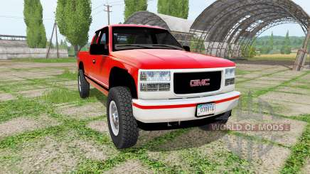 GMC Sierra K3500 v2.0 for Farming Simulator 2017