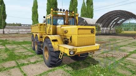Kirovets K 701 6x6 for Farming Simulator 2017