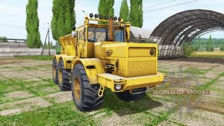 Kirovets K 701 6x6 fertilizer for Farming Simulator 2017